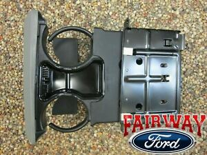05 06 07 Super Duty F250 F350 F450 F550 OEM Ford Dash Cup Holder MED FLINT GRAY