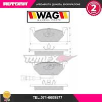 1211 Kit pastiglie freno a disco ant adatto a Audi-Seat-Skoda-Vw (MARCA-WAG)