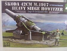 Takom 2018 SKODA 42cm M.1917 Heavy Siege Howitzer (gebaut )