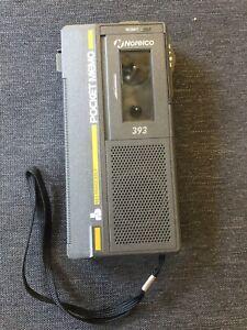 Norelco 393 Pocket Memo Handheld Microcassette Voice Recorder, 9 Cassettes, Case