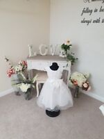 Kids Princess Flower Girl Dress Christening Party Girls Wedding Bridesmaid Maisy