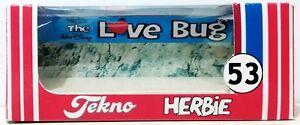 HERBIE Love Bug 53 VW Repro TEKNO Window BOX for Diecast 1:64 Volks Wagen Car