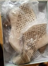 Jessica Simpson Orlina Pearl split suede Boots New 7.5