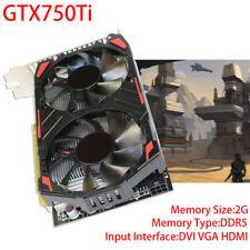 GTX 750 Ti DDR5 VGA/DVI/HDMI PCI-Express3x16 GTX750Ti Video Graphics Card Set