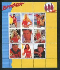 Turkmenistan Commemorative Souvenir Stamp Sheet - Baywatch Pamela Anderson