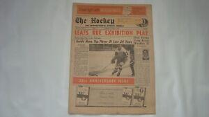 THE HOCKEY NEWS October 15 1966 Vol.2 #1 Gordie Howe top Player past 20 Yrs