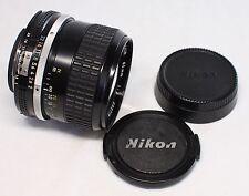 Nikon Nikkor AI 85mm F/2 MF Lens Made In Japan