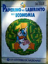 Paperino nel labirinto dell'economia fascicolo n.1  La contabilità nazionale