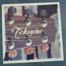 "POP-KARD feat. TAKAMINE HEADSTOCK - DETAIL , 6x6"" greeting card aag"