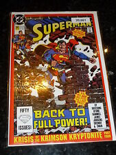 SUPERMAN Comic - 2nd Series - No 50 - Date 12/1990 - DC Comics