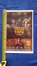RICK MORA SIGNED YELLOW ROCK 5 1/2 X 8 1/2 COLOR PHOTO