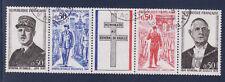 bande general de Gaulle 1971   num: 1695/98   oblitéré /3