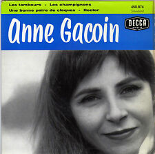 ANNE GACOIN UNE BONNE PAIRE DE CLAQUES (VIAN / SALAVADOR) FRENCH ORIG EP