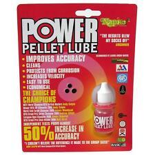 POWER PELLET LUBE AIRGUN AIR RIFLE IMPROVE ACCURACY NEW 10ML GUN OIL