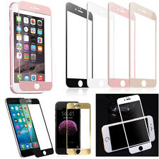 Colors Front 9H Real Tempered Glass Screen Protector Mirror Film Full Cover Case
