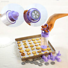198f 1 Set Baking Cookies Mold Practical Kitchen Pastry Biscuit Icing Presses