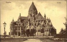 Haarlem Niederlande alte Ansichtskarte ~1910 Partie an der Kathedrale St. Bavo