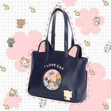 Cute Women Sailor Moon Samantha Vega Luna Cat Handbag Purse Lolita Shoulder Bag