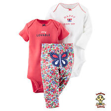 Carter's 3-piece Turn Me Around Set Butterfly 6mos Authentic & Brand New