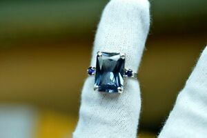 8.54+CT WOMAN S RING.RUSSIAN WELL TEST REAL LAB GROWN ALEXANDRITE