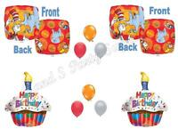 DR SEUSS Happy Birthday Party Balloons Decoration Supplies Horton Cat Hat Grinch