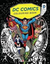 DC Comics Colouring Book by Bonnier Books Ltd BRAND NEW BOOK (Paperback, 2016)