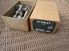 Vintage Stanley No 59 Dowel Jig in Original Box