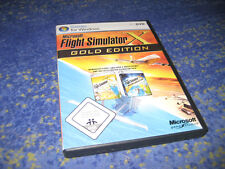 Microsoft Flight Simulator X Gold PC DVD-Box deutsch mit Handbuch PC Spiel