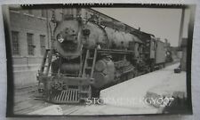 Boston & Maine Railroad #3637 Engine Billerica Shops MA 1953 contact photo