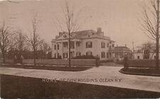 Olean NY * Gov. Higgins Home  1912 *   Frank W. Higgins