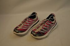 "HOKA One One Women's ""Kailua Trail"" Pink/White Running Shoes Womens Size 6"