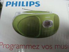PHILIPS CD Soundmachine CD-Player AZ105G/12 tragbar Ghettoblaster Radio