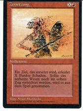MAGIC THE GATHERING, MTG FBB DISINGEGRATE / ZERSETZUNG (German) ex