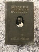 The Boys' Life of Theodore Roosevelt by Hermann Hagedorn 1918 Hardcover