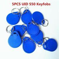 5Pcs/lot 13.5MHZ UID Changeable MF S50 1K IC Keys Keyfobs Token Tags S50 NFC Clo