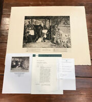 The Prodigal Son- The Fatted Calf  JAMES TISSOT ETCHING SIGNED 1881 1st STATE