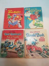 Lot of 4 Vintage Tell a Tale Children's Books 1951- 58