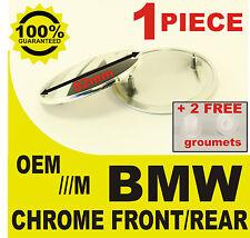 tapa llantas Capó rear front M Power BMW 82mm 2 pernos  cromo espejo prata