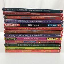 Goosebumps Books Lot of 13 Paperback