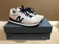 Men's Shoes, Size 12, New Balance, NB 515, White Sneakers, Lifestyle, Retro