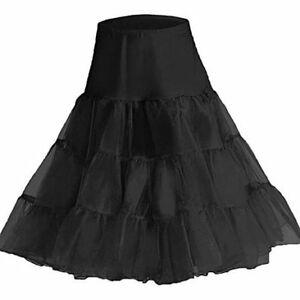 "50er Jahre Vintage Rockabilly Petticoat Rock, 18"" kurze / 26"" knielang"