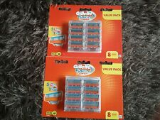Gillette Fusion Power Razor Blades 8 Pack Made In Germany &