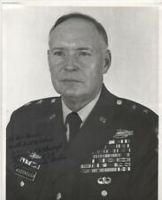 More details for 10 x 8 b/w photo hand signed , gen joseph mcdonough , official army photo