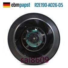 ebmpapst R2E190-AO26-05 Turbine centrifugal fan 230V 0.26/0.34A φ190MM 4pin