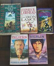 Stephen R. Lawhead lot of 5 fantasy paperbacks