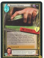 Buffy TVS CCG Limited Class Of 99 Premium Foil Card #213 Broken Wishes