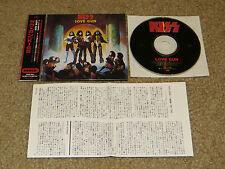 KISS LOVE GUN JAPAN CD PHCR 3057