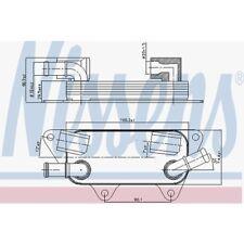 Nissens Ölkühler, Motoröl Land Rover Freelander 90789 Land Rover Freelander LN
