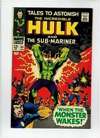 Tales to Astonish #99 1968 Incredible Hulk Sub-Mariner