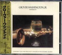 GROVER WASHINGTON, JR Winelight JAPAN W.GERMANY 1983 1st Press TARGET CD 38XP13